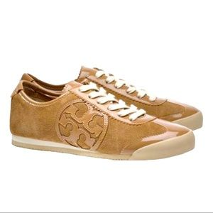 TORY BURCH SNEAKERS - Large Logo, worn once
